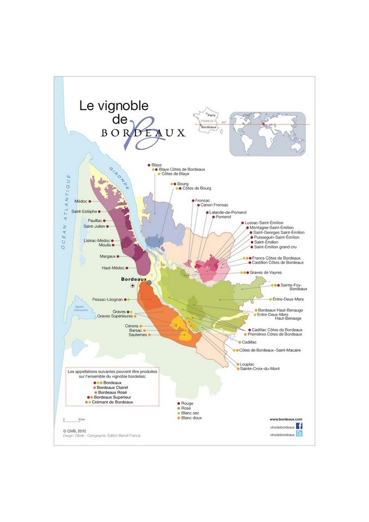 Carte Bordeaux Appellations.Vignobles Delpit Vignoble